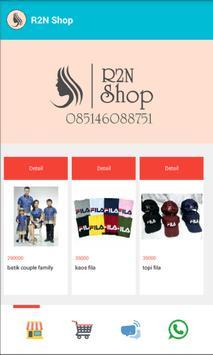 R2N Shop screenshot 1