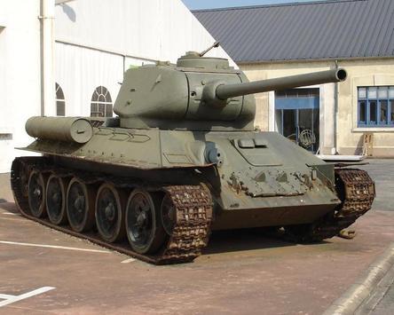 Wallpapers T34 Tanks apk screenshot