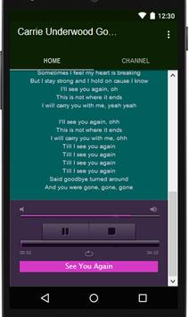 Carrie Underwood musik & lyric captura de pantalla 5