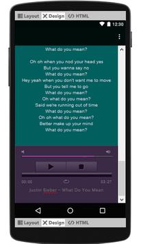 Justin Bieber Lyrics & Music screenshot 2