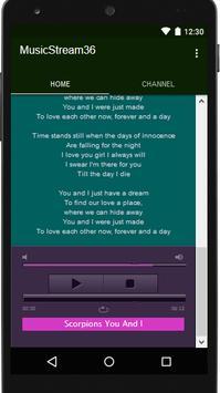 Scorpions Music&Lyrics screenshot 5