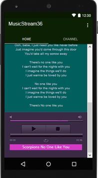 Scorpions Music&Lyrics screenshot 7