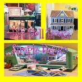 DIY Doll House Simple Design icon