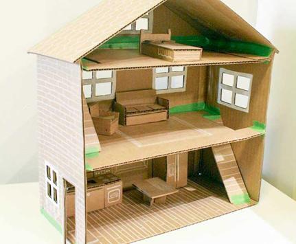 DIY Doll House Simple Design screenshot 1