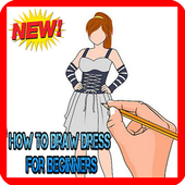How To Draw Dress For Beginners icon