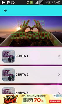 Cerpen Cinta Romantis apk screenshot