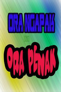 Humor Jawa Terlucu poster