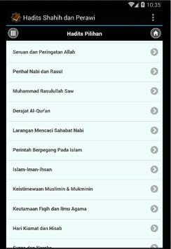 Hadits Shahih dan Perawi screenshot 2