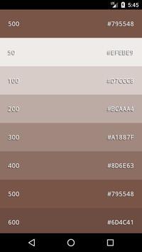 Material Color  Palette screenshot 4