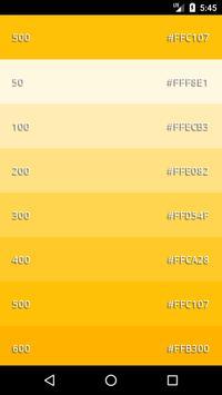 Material Color  Palette screenshot 3