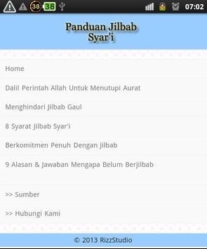 Panduan Hijab Syar'i apk screenshot