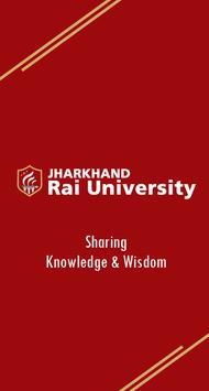 Jharkhand Rai University(JRU) poster