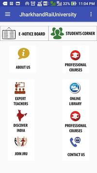 Jharkhand Rai University(JRU) apk screenshot