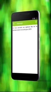 Bonne Année Meilleures Messages 2018 apk screenshot