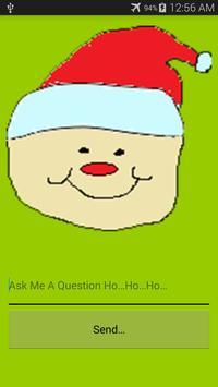 Ask Santa poster