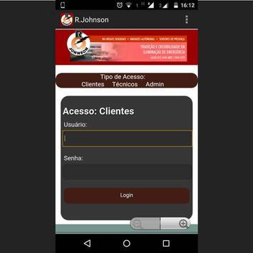 R. JOHNSON INDUSTRIA COM. LTDA apk screenshot