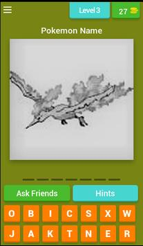 Pokemon Quiz apk screenshot