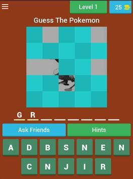 Pokemon Quiz factory screenshot 20