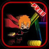 Ninja Chibi Sprinter Hero Girl icon