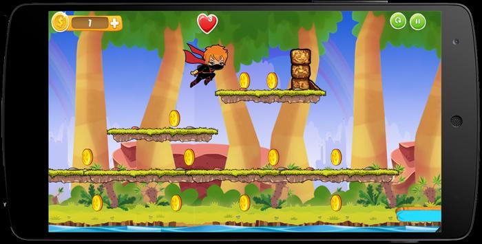 Ninja Chibi Sprinter Hero Girl apk screenshot
