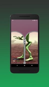 Dame tu cosita Zipper Lock Screen screenshot 3