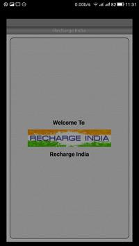 Recharge India poster