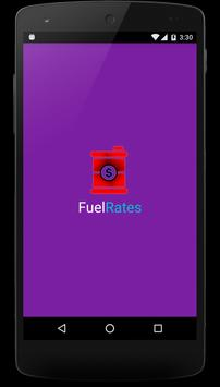 Fuel Rates poster