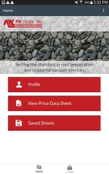 Roof Vac App screenshot 2