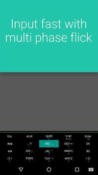 QuickFlick Keyboard apk screenshot
