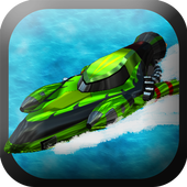 Powerboat Traffic Racer icon