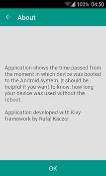 uptime time since last boot apk free tools app for