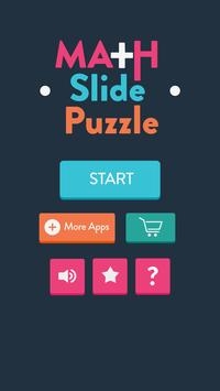 Math Slide Puzzle poster