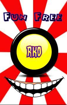 RKO Randy Orton Button poster
