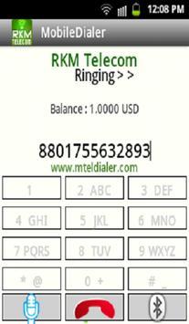 RKM Telecom Dialer apk screenshot