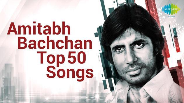 Amitabh Bachchan Songs poster