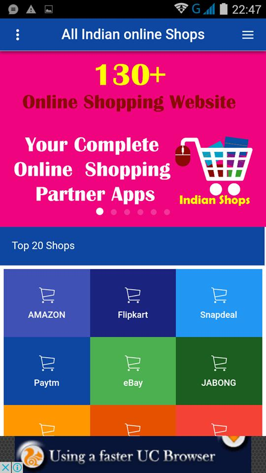 dce02ec81ad31 Top 100+ Online Indian Shop for Android - APK Download