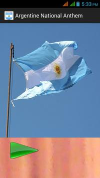 Argentine National Anthem poster