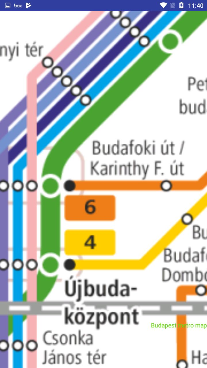 Budapest Metro Terkep For Android Apk Download