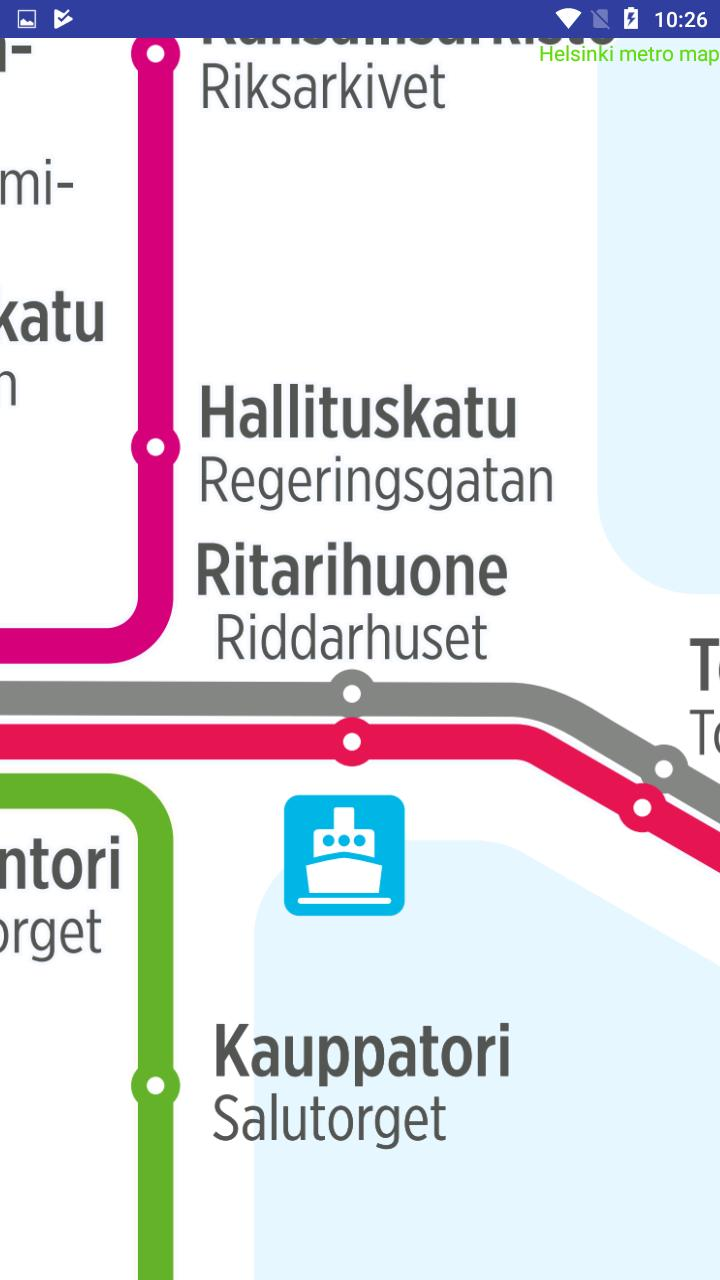 Helsingin Metro Kartta For Android Apk Download