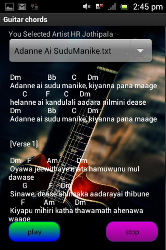 Sinhala Guitar Chords APK Download - Free Music & Audio APP for ...