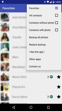 Multi Photos Contact HD apk screenshot