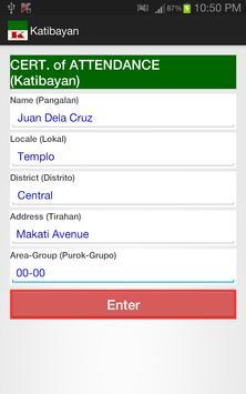 Katibayan screenshot 1