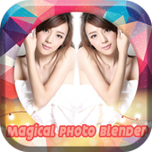 Magical Photo Blender Mirror icon