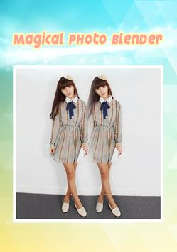 Magical Photo Blender Mirror poster