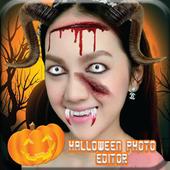 Halloween Makeup photo editor icon