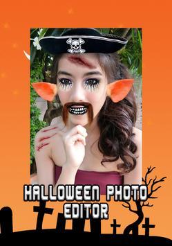 Halloween Makeup photo editor poster