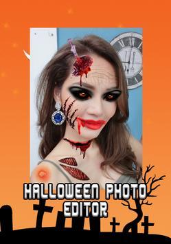 Halloween Makeup photo editor screenshot 1
