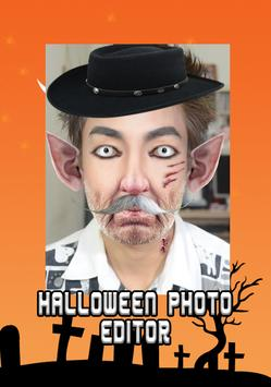 Halloween Makeup photo editor screenshot 3