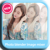 Photo blender Image mixer new icon