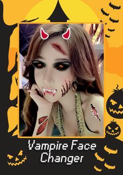 Vampire Face Halloween Makeup poster